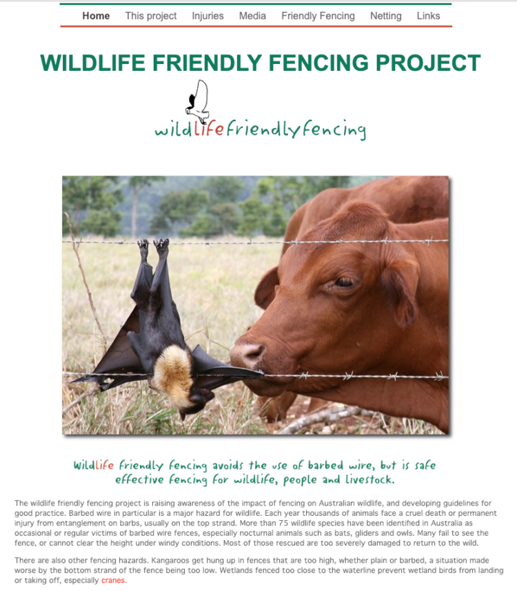 Wildlife Friendly Fencing